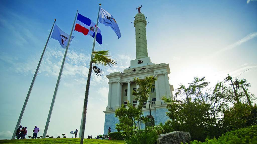 El Monumento en Santiago