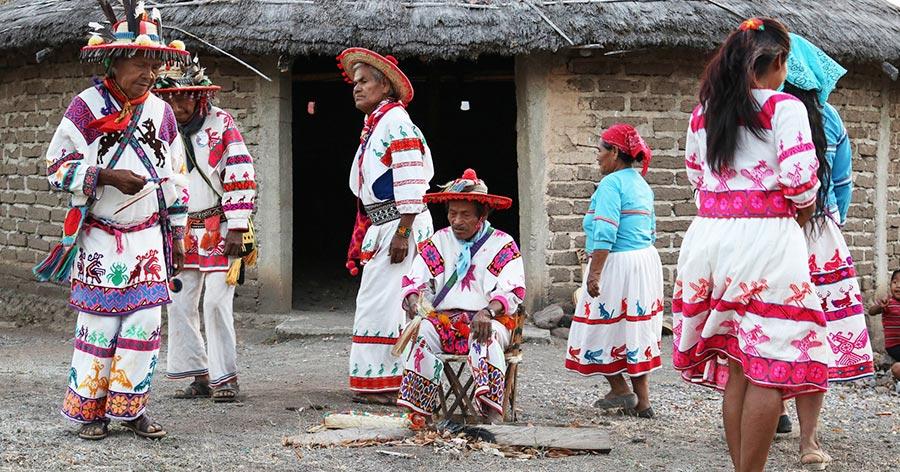 Huichol spiritual Ritual
