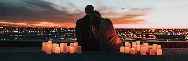 Date by Candles