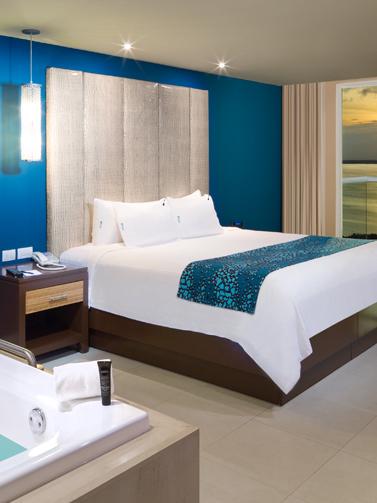 Habitaciones y Suites Hard Rock Hotel Cancun
