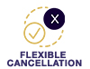 flexible cancellation graphic