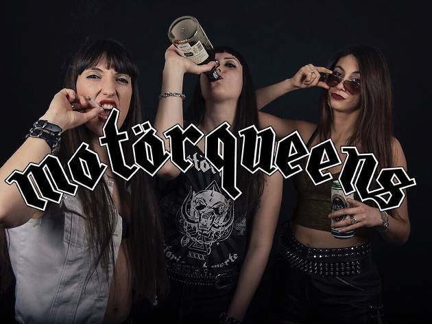 LIVE MUSIC SESSION - MOTÖRQUEENS (Support by ROCKCHICKS)