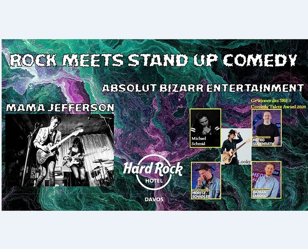 Stand Up Comedy meets Rock Music
