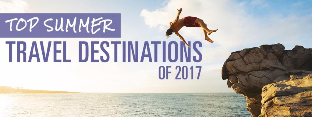travel destinations of 2017