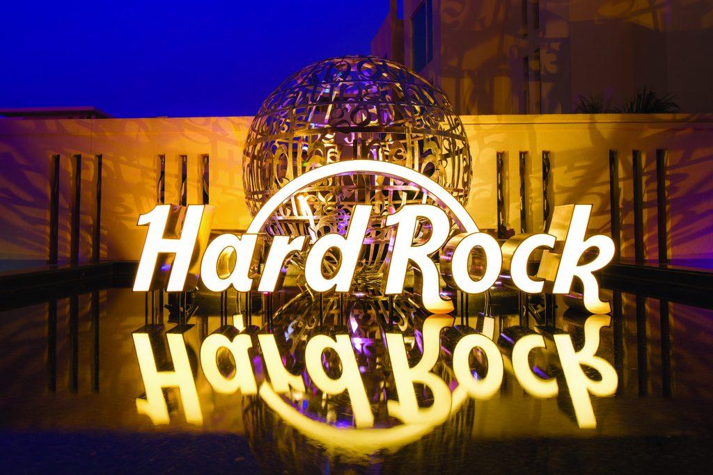Hard Rock Logo Sign