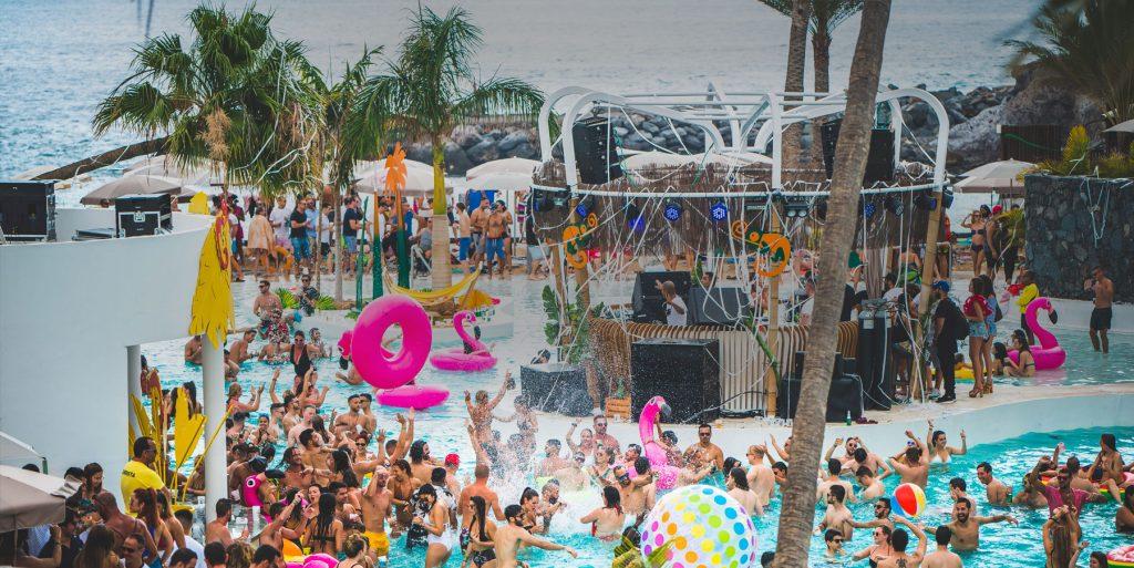 lagoon pool party