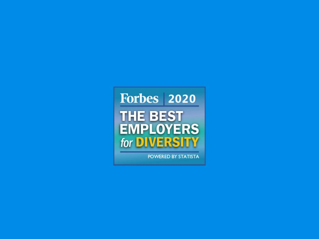 Forbes Best Employeer for Diversity Logo