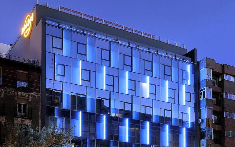 Exterior Shot of Hard Rock Hotel Madrid