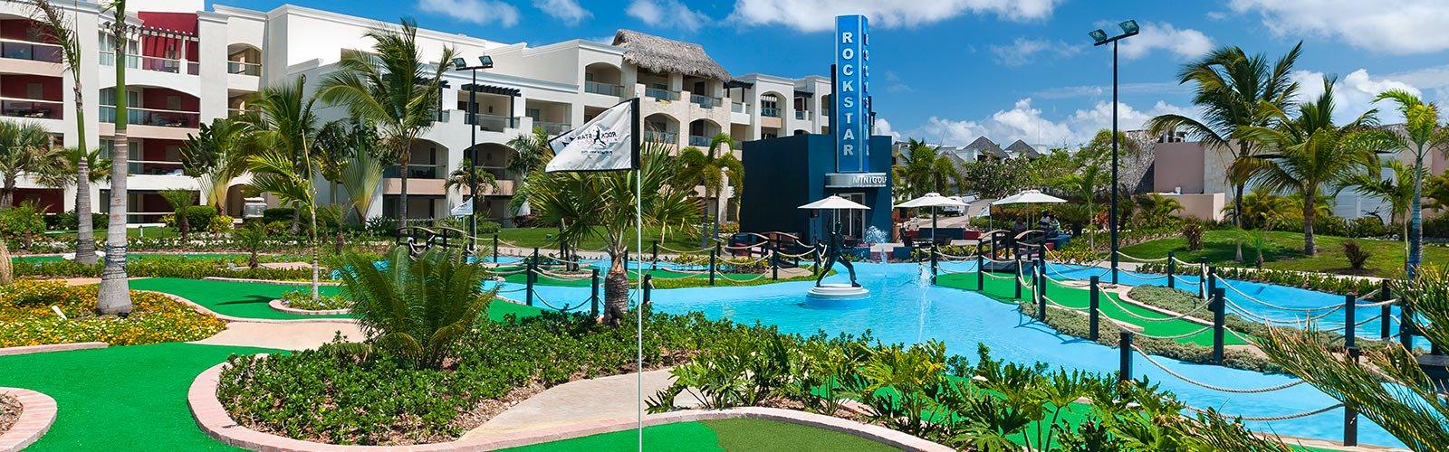 Mini Golf Hard Rock Punta Cana