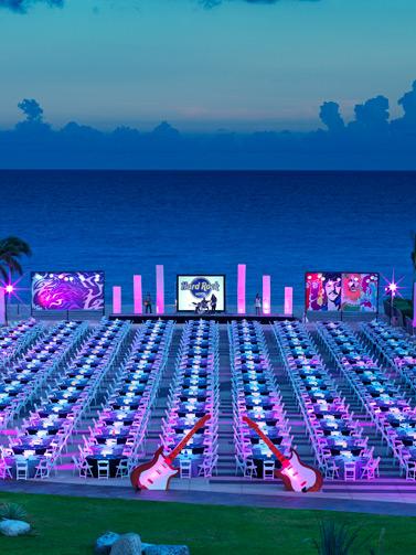 Meetings & Weddings Beachfront venues at Hard Rock Hotel Riviera Maya